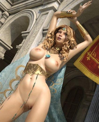фото голых принцесс