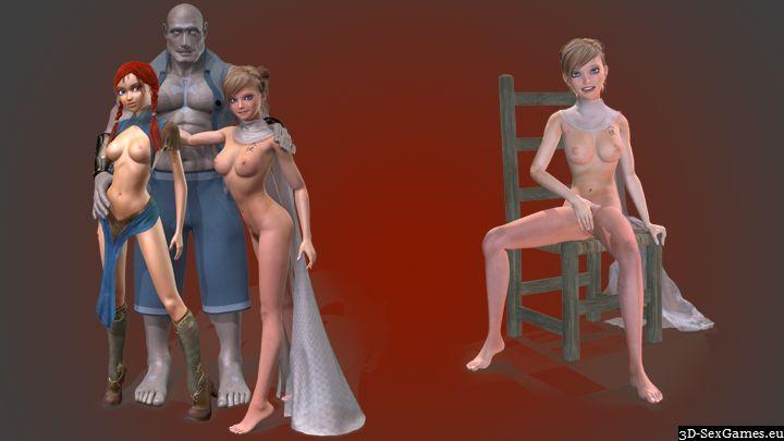 Nudist mature women in the woods