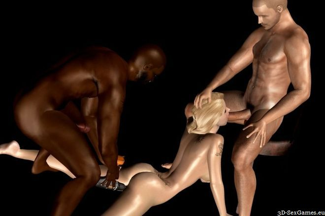This interracial 3d sex porn pics above told
