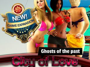 Stad van de liefde sex flash game met RPG sex