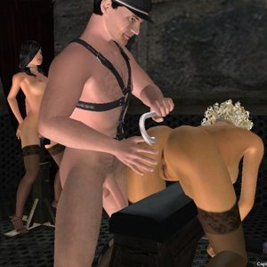 Perverse fetish and dirty sex games