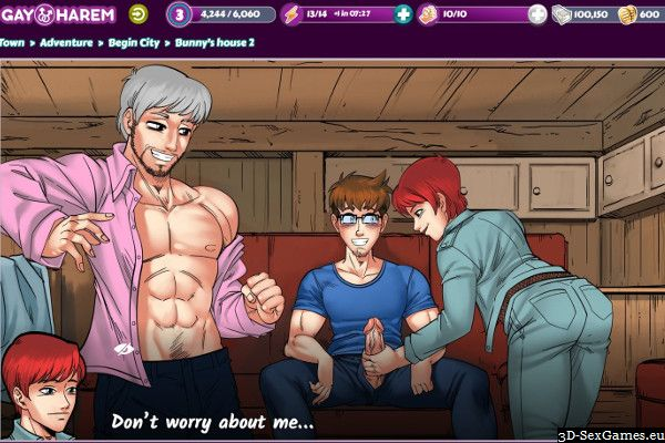 Gay mobile sex games