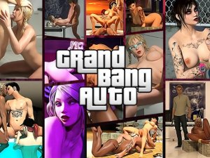 Grand Bang Auto GTA kön spel
