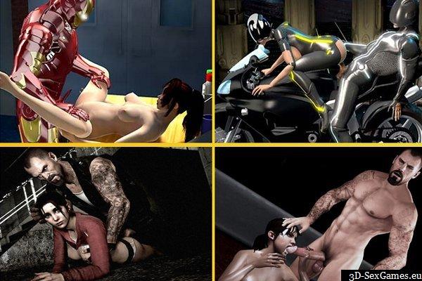Iron man sex game