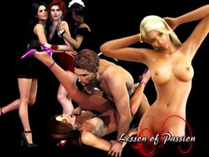 Lesson of Passion sex hry v záblesku