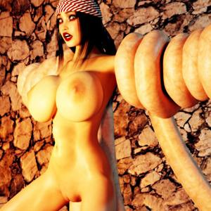 Ugly 3d monsters fuck hot nude girls