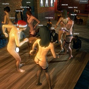 Realistic multiplayer live sex games 3D