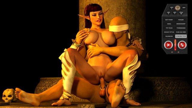 Elf princess porn monster