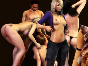 Sex and Glory erotic flash games