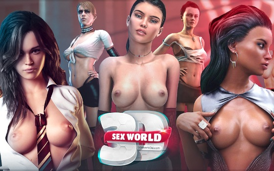 Sex World 3D XXX porn game download
