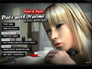 Date with Naomi virtuele datum seks spel