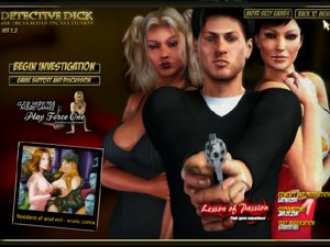 Detective dick mobile sex game