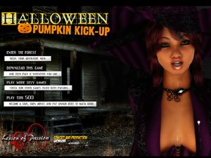 Halloween Pumpkin Pick-up sex party