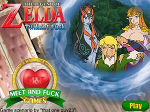 The Legend of Zelda: Twilight Fuck