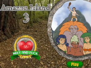 Amazon Island 3 exotic porn game