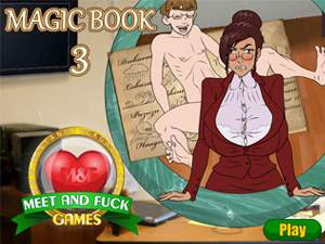 Magic Book 3 MILF sex game