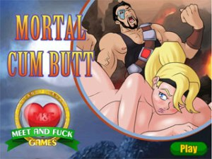 Mortal Cum Butt Mortal Combat sex spel