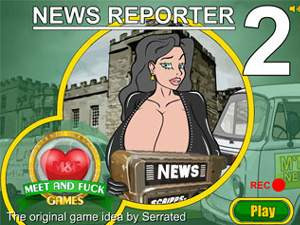 News Reporter 2 sex game with sisters