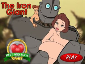 The Iron Giant free online XXX game