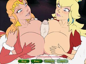 Nintendo Christmas 3 роговой девочки гребаный