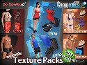 New textures and clothes from 3D sex games